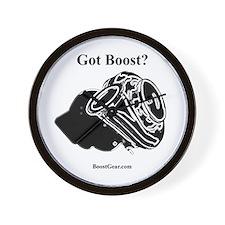 Got Boost? - Turbo - BoostGear.com - Wall Clock