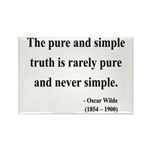 Oscar Wilde 4 Rectangle Magnet (100 pack)