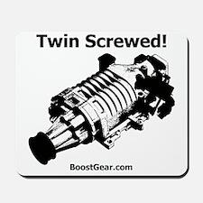 Twin Screwed! - Supercharger - BoostGear Mousepad