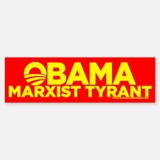Obama, Marxist Tyrant Bumper Bumper Bumper Sticker
