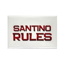 santino rules Rectangle Magnet