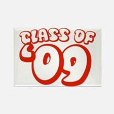 Class Of 09 (Red Bubble) Rectangle Magnet (10 pack