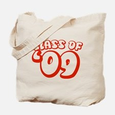Class Of 09 (Red Bubble) Tote Bag