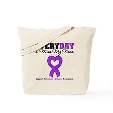 Alzheimer's MissMyNana Tote Bag