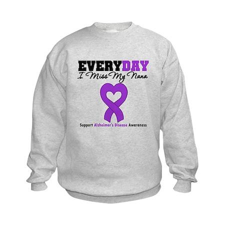Alzheimer's MissMyNana Kids Sweatshirt