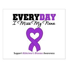 Alzheimer's MissMyNana Posters