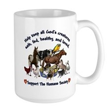 All Gods Creatures Mug