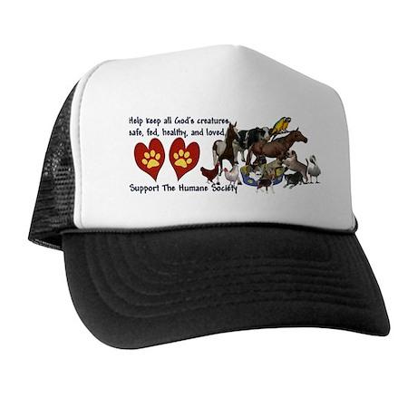 All Gods Creatures Trucker Hat