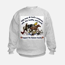 All Gods Creatures Sweatshirt