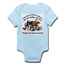 All Gods Creatures Infant Bodysuit
