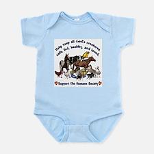 All Gods Creatures Infant Bodysuit