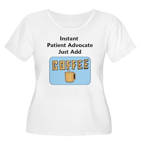 Patient Advocate Women's Plus Size Scoop Neck T-Sh