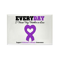 Alzheimer's Mother-in-Law Rectangle Magnet (10 pac