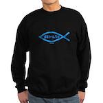 Gefilte Fish Jewish Sweatshirt (dark)