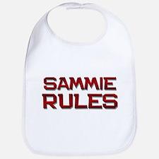 sammie rules Bib
