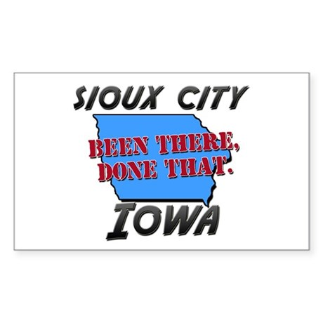 sioux city iowa - been there, done that Sticker (R