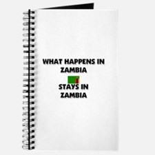 What Happens In ZAMBIA Stays There Journal