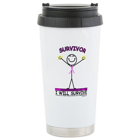 I will Survive Stainless Steel Travel Mug