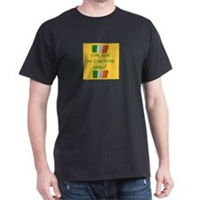 Quit your belly aching Black T-Shirt