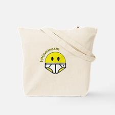 Bright Green Ninja Boogers Tote Bag