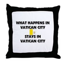What Happens In VATICAN CITY Stays There Throw Pil