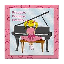 Practice Tile Coaster