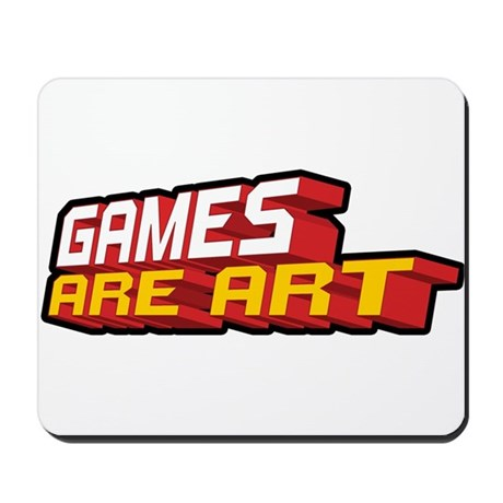 Games Are Art Mousepad