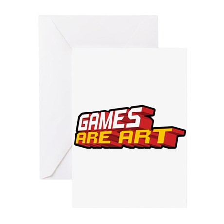Games Are Art Greeting Cards (Pk of 10)