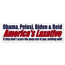 Scare the Poop out of you... Bumper Bumper Sticker
