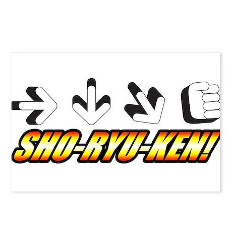 Sho-Ryu-Ken Postcards (Package of 8)