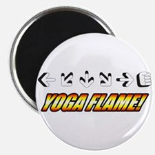 Yoga Flame Magnet