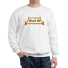 Wall St Crime Scene Sweatshirt