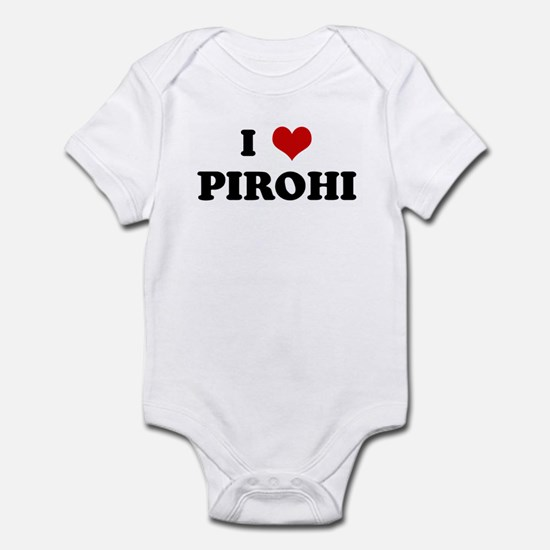 I Love PIROHI Infant Bodysuit