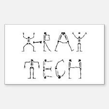 X-Ray Tech Rectangle Decal