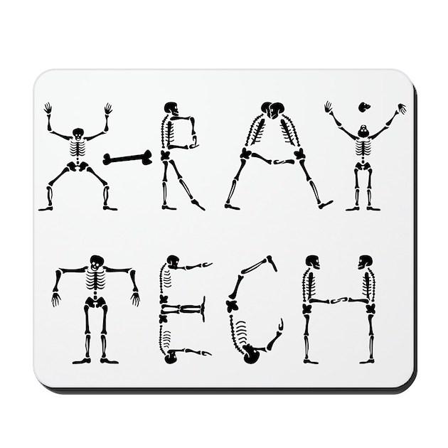 X-Ray Tech Mousepad by westwoodwear