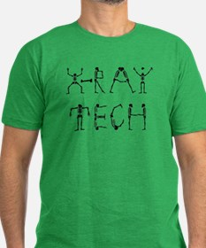 X-Ray Tech Men's Fitted T-Shirt (dark)