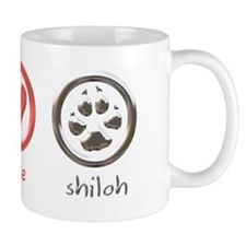 peace-love-shiloh Mug