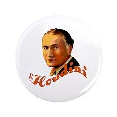 "Harry Houdini Portrait 3.5"" Button"
