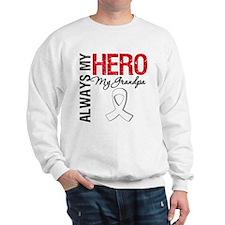 LungCancerHeroGrandpa Sweatshirt