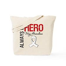 LungCancerHeroGrandma Tote Bag