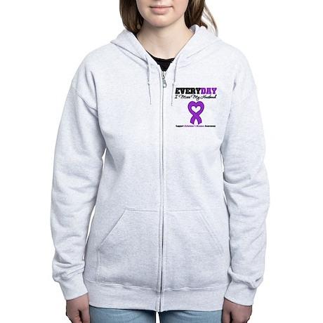 Alzheimer's MissMyHusband Women's Zip Hoodie