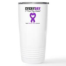 Alzheimer's MissMyHusband Travel Mug