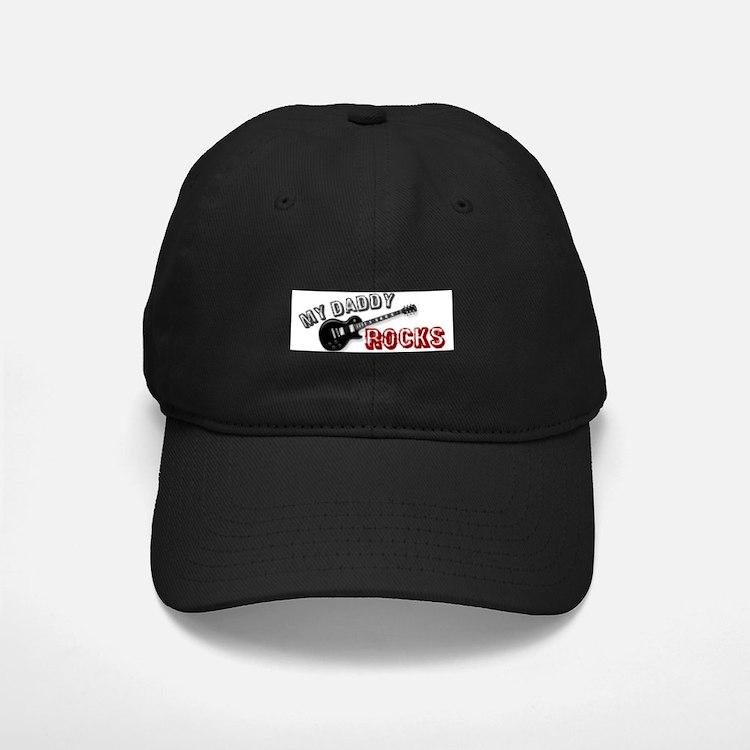 My Daddy Rocks Baseball Hat