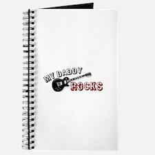 My Daddy Rocks Journal