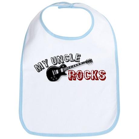 My Uncle Rocks Bib