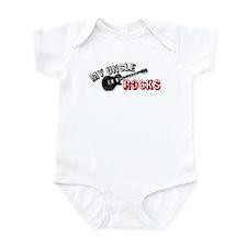 My Uncle Rocks Infant Bodysuit