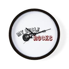 My Uncle Rocks Wall Clock