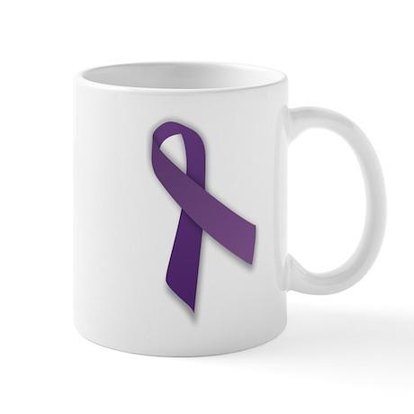370px-Purple_ribbon Mugs