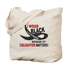 I Wear Black For My Daughter 33.2 Tote Bag