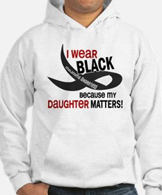 I Wear Black For My Daughter 33.2 Hoodie